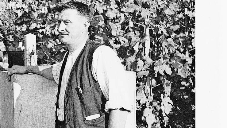 Albert Meier aus Würenlingen forschte und entwickelte sortenreine, veredelte Rebenbestände.