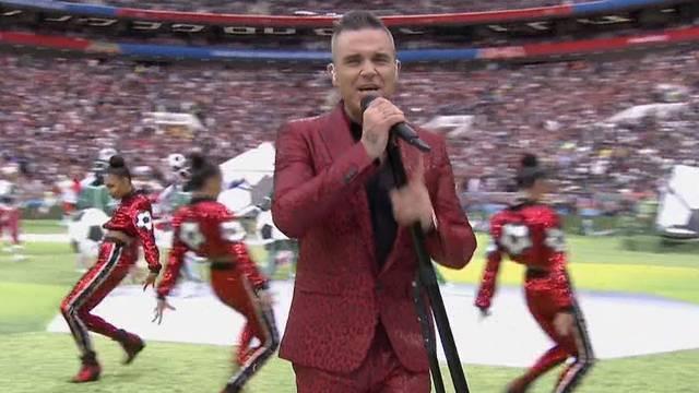 Robbie Williams eröffnet Fussball-WM
