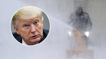 Donald Trump twittert über Kältewelle.