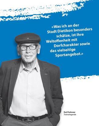 Karl Frehsner war als Skirennlauftrainer an 53 Olympia- und WM-Medaillen beteiligt.