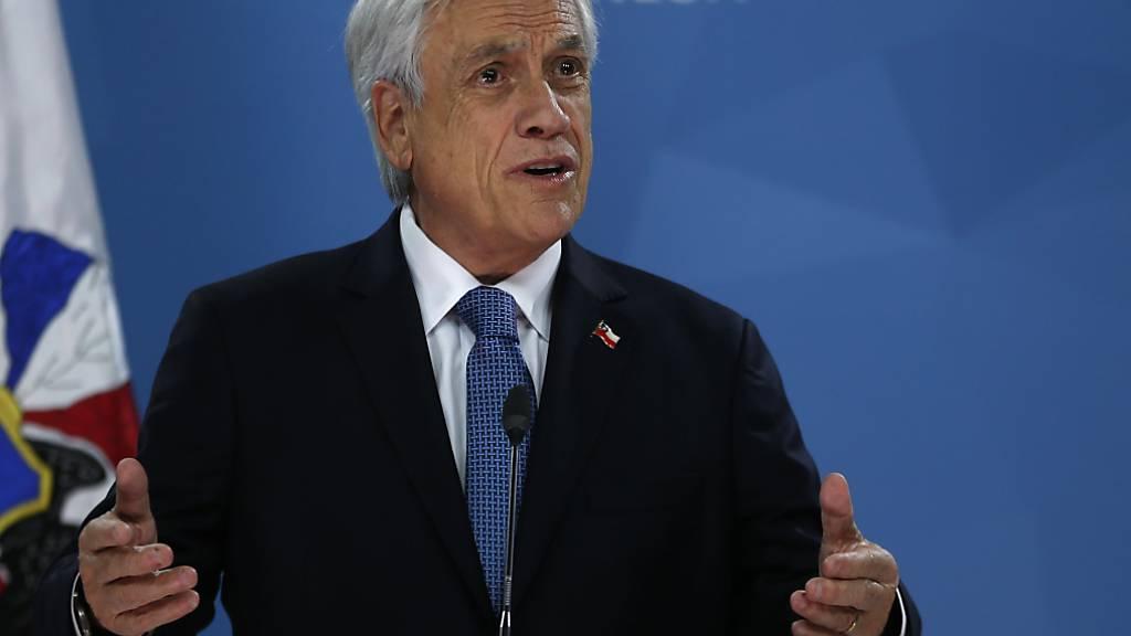 Chiles Staatschef Piñera ruft Opposition nach Unruhen zu Dialog auf