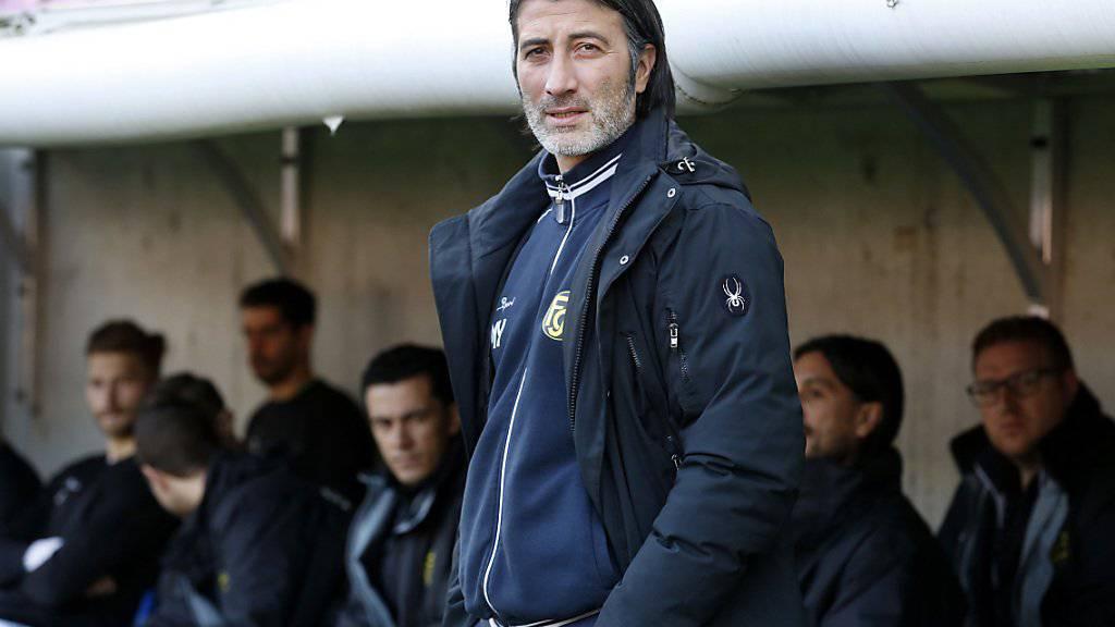 """Murat Yakin führt aktuell den """"kleinen"""" FC Schaffhausen in die Erfolgsspur zurück"""