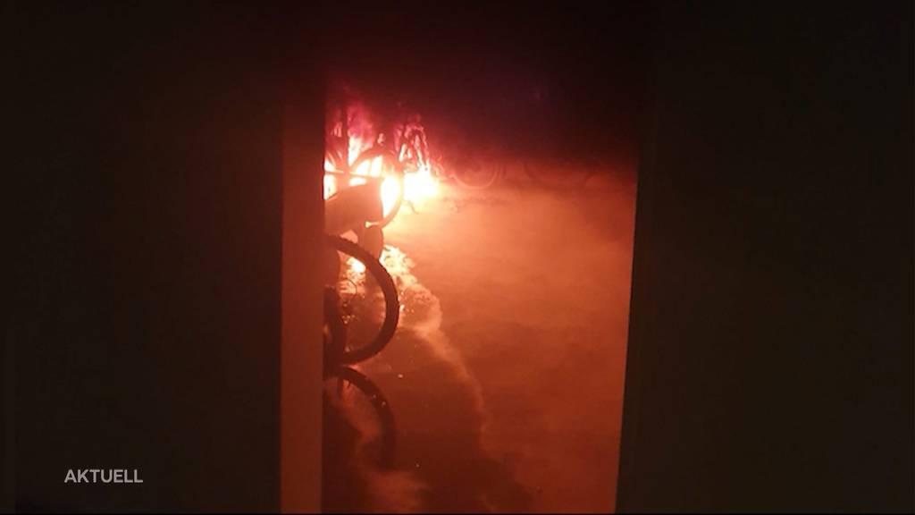 Brandstiftungen in Unterkulm