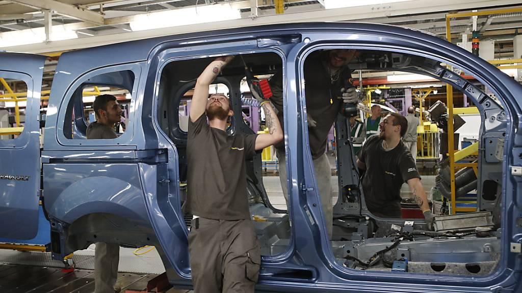 Industrie in Frankreich und Italien erholt sich