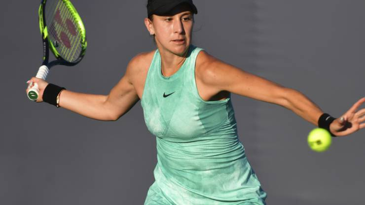 Belinda Bencic findet in Charleston gut ins Turnier. (Archivbild)