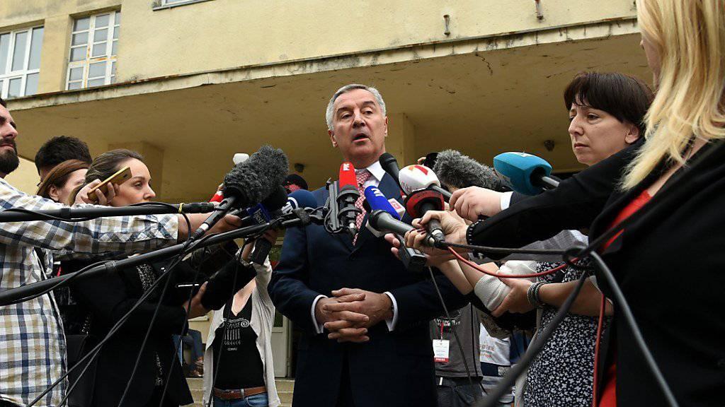 Milo Djukanovic hat die Präsidentenwahl in Montenegro klar gewonnen. Er war mit wenigen Ausnahmen seit 1991 entweder Regierungs- oder Staatschef des Landes.