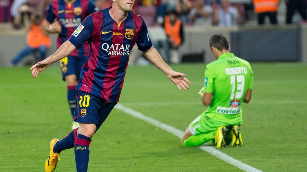Messi ist erneut Weltfussballer des Jahres