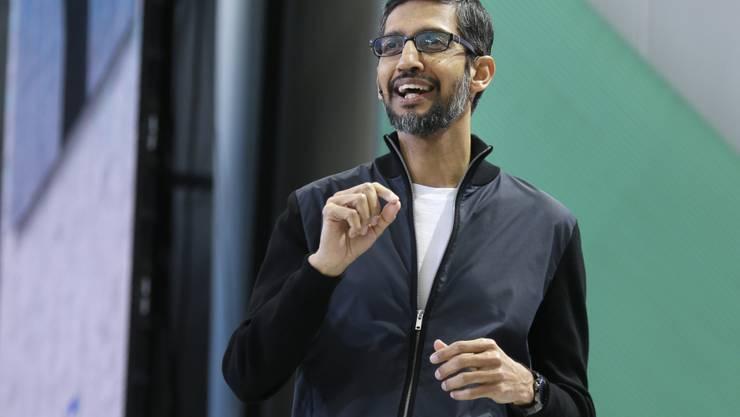 Verspricht zusätzliche Massnahmen gegen sexuelle Übergriffe im Unternehmen: Google-Chef Sundar Pichai. (Archivbild)