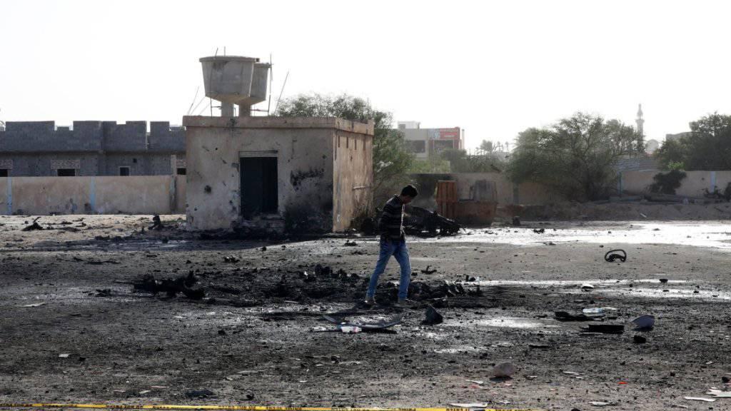 Not und Zerstörung in Libyen: Laut der UNO brauchen in dem krisengeschüttelten Land 2,4 Millionen Menschen dringend Hilfe. (Archivbild)