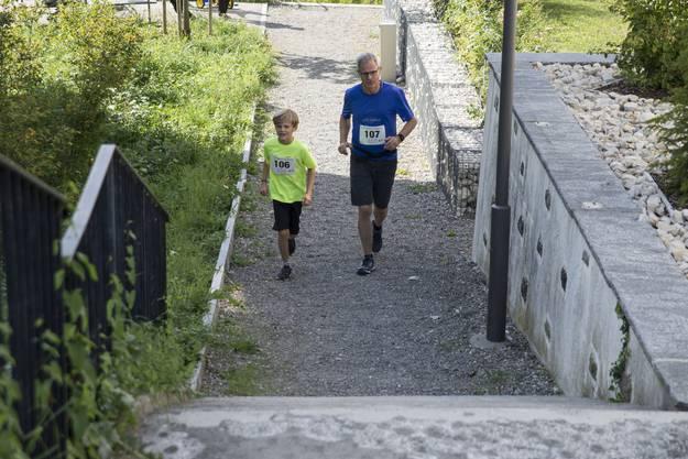 Gemeinsam laufen macht mehr Spass