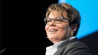 Marianne Wildi wehrt sich gegen eine weitere Zinssenkung, die seitens der Schweizerischen Nationalbank droht.