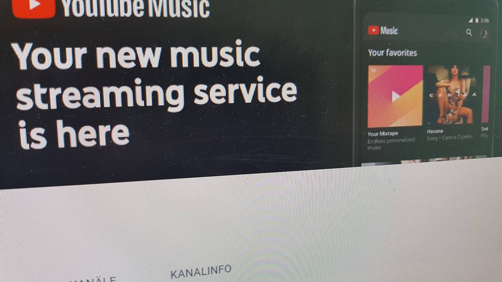 Vernetzt: Schweizer müssen noch auf «Youtube Music» warten