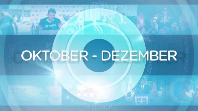 Jahresrückblick: Oktober – Dezember