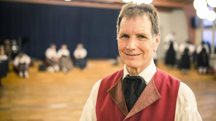 Werner Vogel ist Tanzleiter und Präsident.