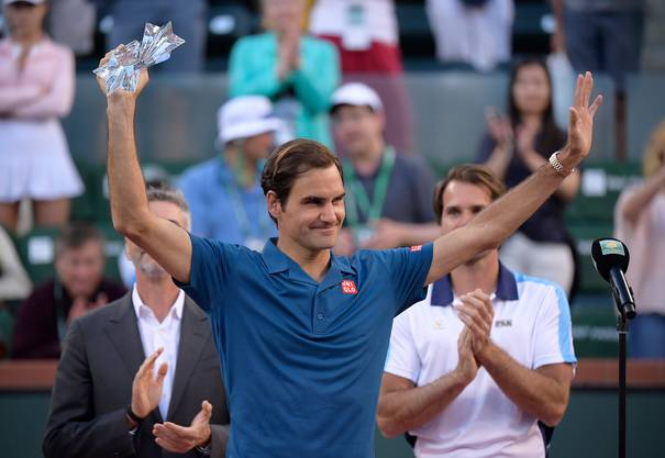 Roger Federer erreichte 2019 in Indian Wells den Final.