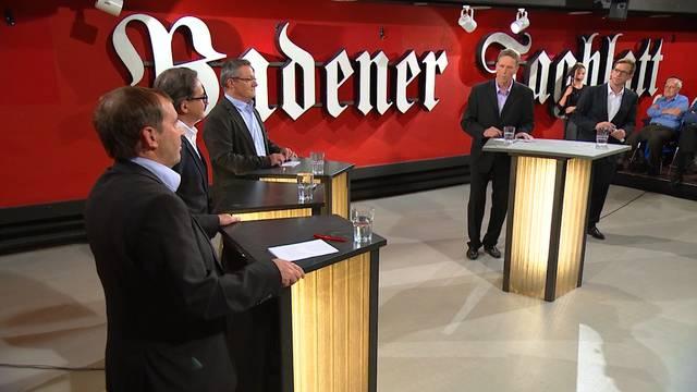 Sehen Sie hier das ganze «Badener Tagblatt»-Podium mit den Stadtratskandidaten.