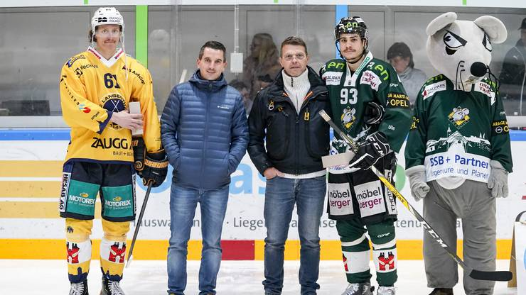 Vincenzo Küng (Langenthal) und Silvan Wyss (Olten) werden als «Best Player» ausgezeichnet.