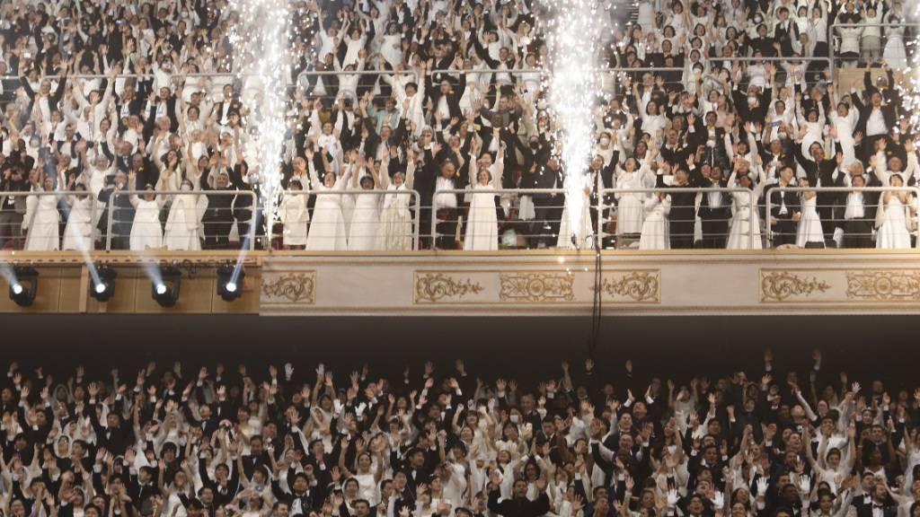 Massenhochzeit mit 30'000 Menschen in Südkorea