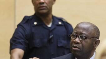 Laurent Gbagbo vor dem Gericht in Den Haag (Archiv)