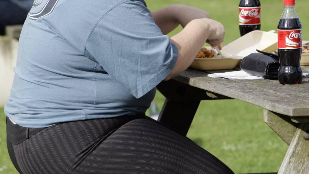 Junkfood und Süssgetränke können zu Fettleibigkeit führen (Archiv)