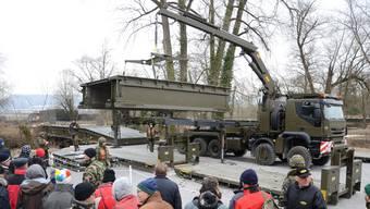 Waffenplatz Brugg: Tag der Angehörigen der Genie UOS/RS 73