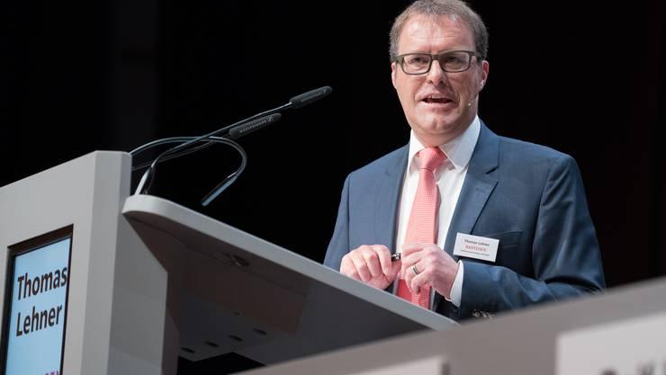 Thomas Lehner präsidiert seit vier Jahren den Aargauer Raiffeisen-Verband.