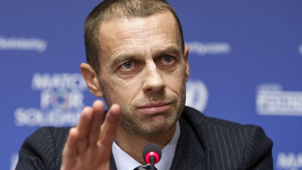 UEFA-Präsident kritisiert FIFA für Hilfsgelder-Verteilung