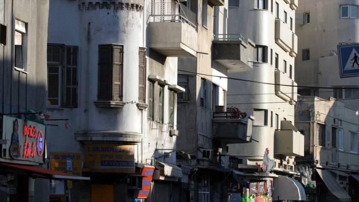 """Die """"weisse Stadt"""" in Tel Aviv gehört seit 2003 zum Unesco-Weltkulturerbe (Archiv)"""