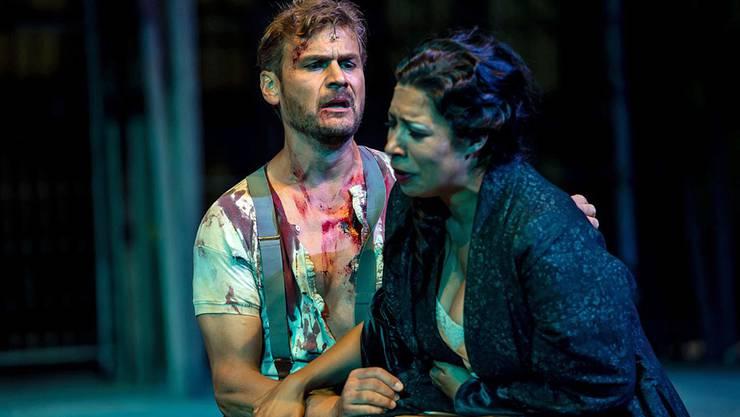 Peter Bernhard, Intendant der Oper Schenkenberg (hier als «Trovatore» mit Mary Elizabeth Williams), hat die Gläubiger der letzten Produktion zu einer Teilverzichtserklärung auf ihre Ansprüche bewegt. ZVG