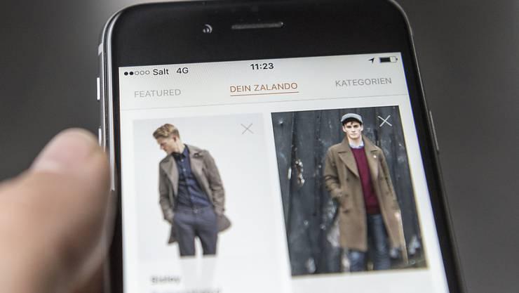 Gleich via App bestellen? Männer-Kosmetik gibt es jetzt auch bei Zalando. (Archivbild)