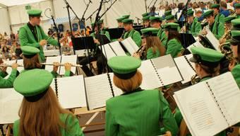Am Weltjugendmusik Festival spielte die Stadtjugendmusik Dietikon auf der DRS Musigwelle
