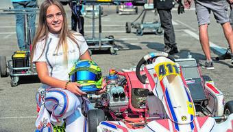 Das Rennfahren als Job kann sich Ekaterina Lüscher zwar vorstellen. Sie will sich aber lieber auf das Hier und Jetzt konzentrieren.