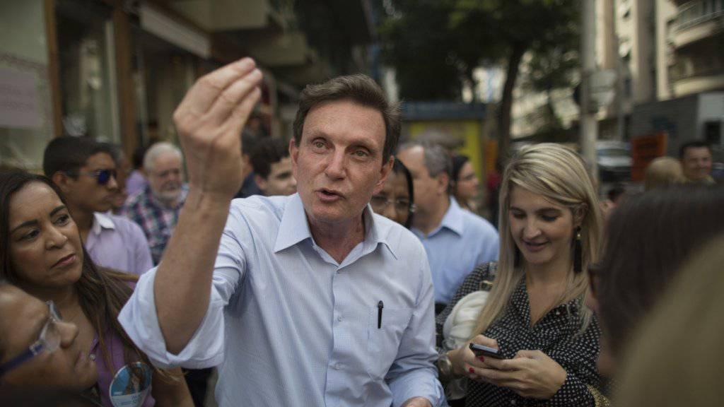 Blieb der Eröffnung des Karnevals fern: Rios neuer Bürgermeister Marcelo Crivella. (Archivbild)