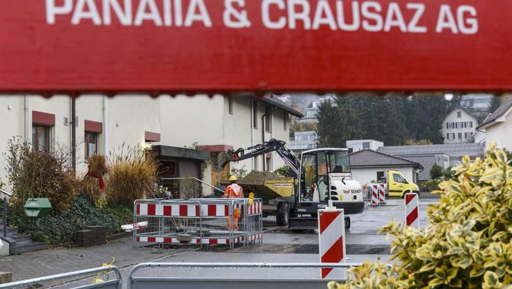 Baustelle der Panaiia & Crausaz AG