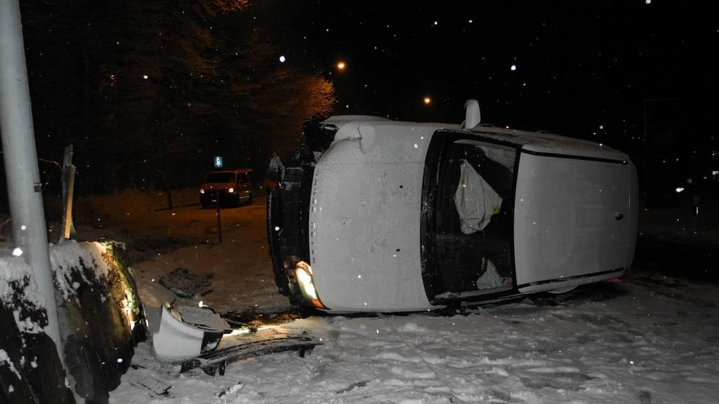 200 Unfälle auf den Strassen