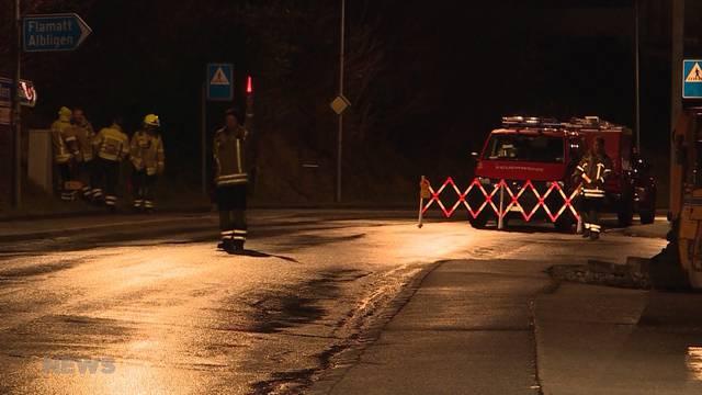 Schwerer Unfall in Lanzenhausern