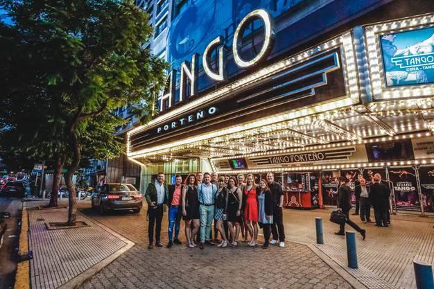 Am Abend steht Tango auf dem Programm.