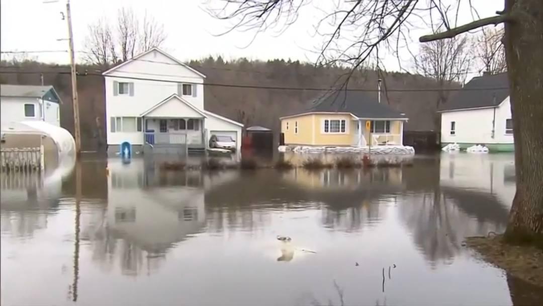 Überschwemmungen: Osten Kanadas verhängt Notstand