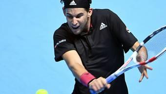 Dominic Thiem benötigte drei Stunden und sechs Matchbälle für den Sieg über Novak Djokovic