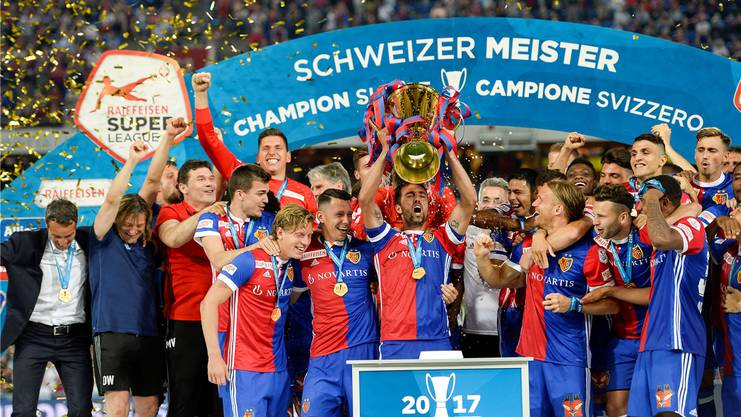 Der FC Basel wurde als bestes Basler Team ausgezeichnet.