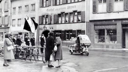 Diverse alte Aufnahmen aus dem Archiv von Lukas M. Stoecklin. Der Basler hat während fast sieben Jahrzehnten dem Abriss geweihte Gebäude und Anlagen fotografiert.
