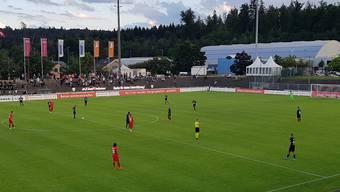 Fussball, Challenge League, 30. Runde, FC Aarau - FC Winterthur (11.07.2020)