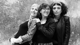 Das Frauentrio Yörük aus Südfrankreich eröffnet den Veranstaltungsreigen in der Stanzerei am 21.10.2020 (Bild zVg)1