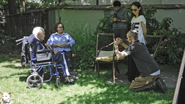 Der 104 jährige David Goodall kommt aus Australien in die Schweiz um Sterbehilfe zu erhalten.