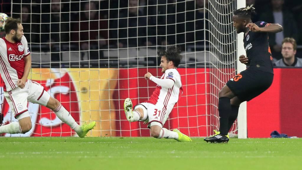 Matchwinner Michy Batshuayi trifft für Chelsea in Amsterdam zum 1:0