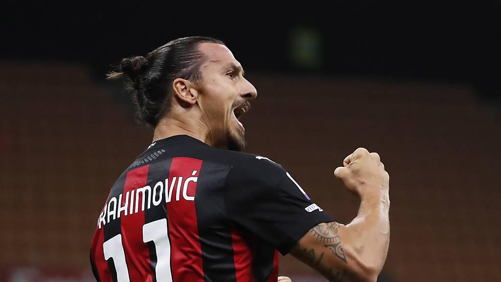 Ibrahimovic schiesst Milan im Alleingang zum Sieg