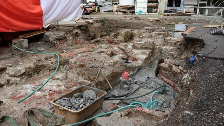 Die Arbeiten auf der Freibad-Baustelle können weitergehen.