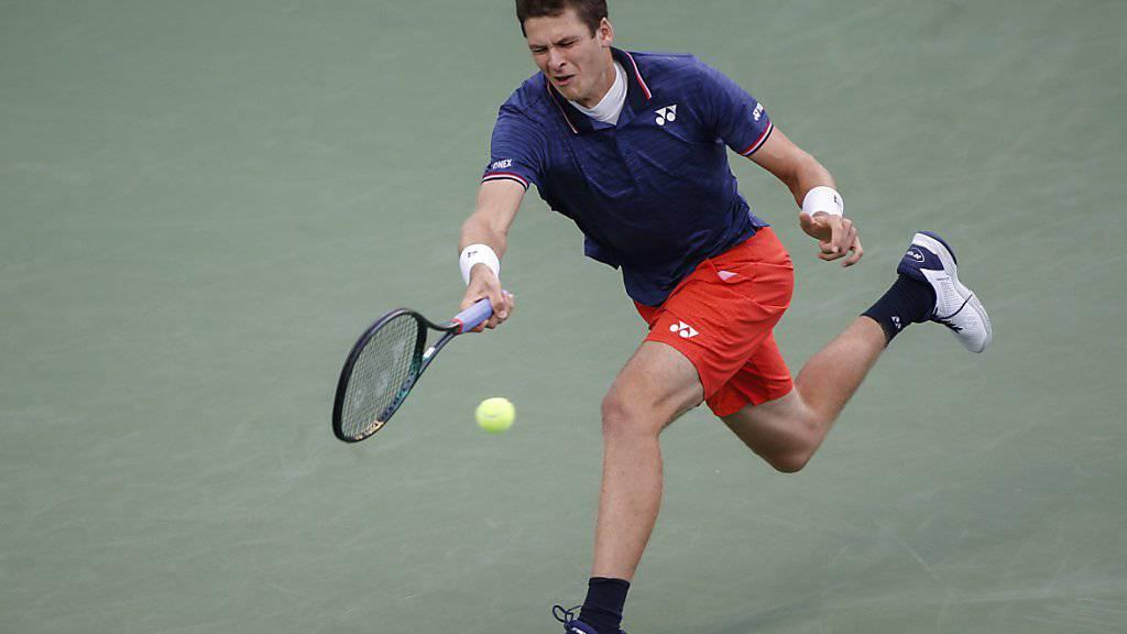 Der Pole Hubert Hurkacz gewann seinen ersten ATP-Titel