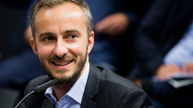 Der deutsche Satiriker Jan Böhmermann: Steckt er hinter dem Strache-Video?