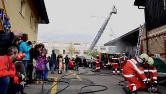 Hauptübung der Feuerwehr Birmensdorf